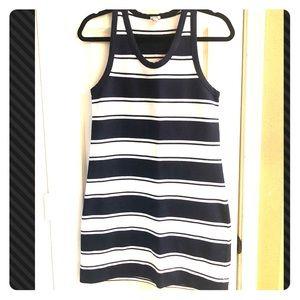 J. Crew Striped Tank Dress